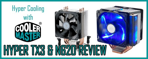 articleimage thumb1 Cooler Master Hyper TX3 and N620 Review