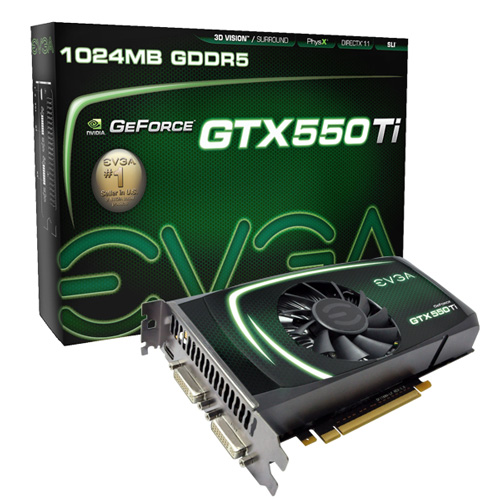 EVGA GTX 550 Ti EVGAs GTX 550 Ti free performance evaluation