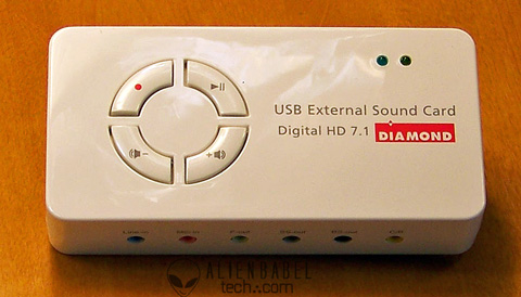 Diamond Xtreme USB External Sound Card