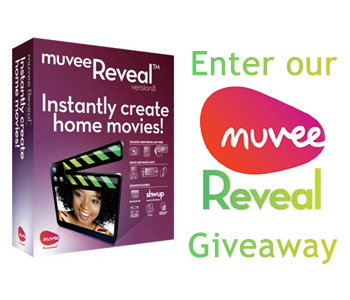 muvee Reveal Giveaway Featured Sponsor   muvee