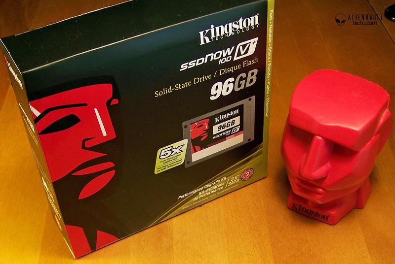 96 GB RedH Kingston 96GB SSDNow V+100 performance evaluation