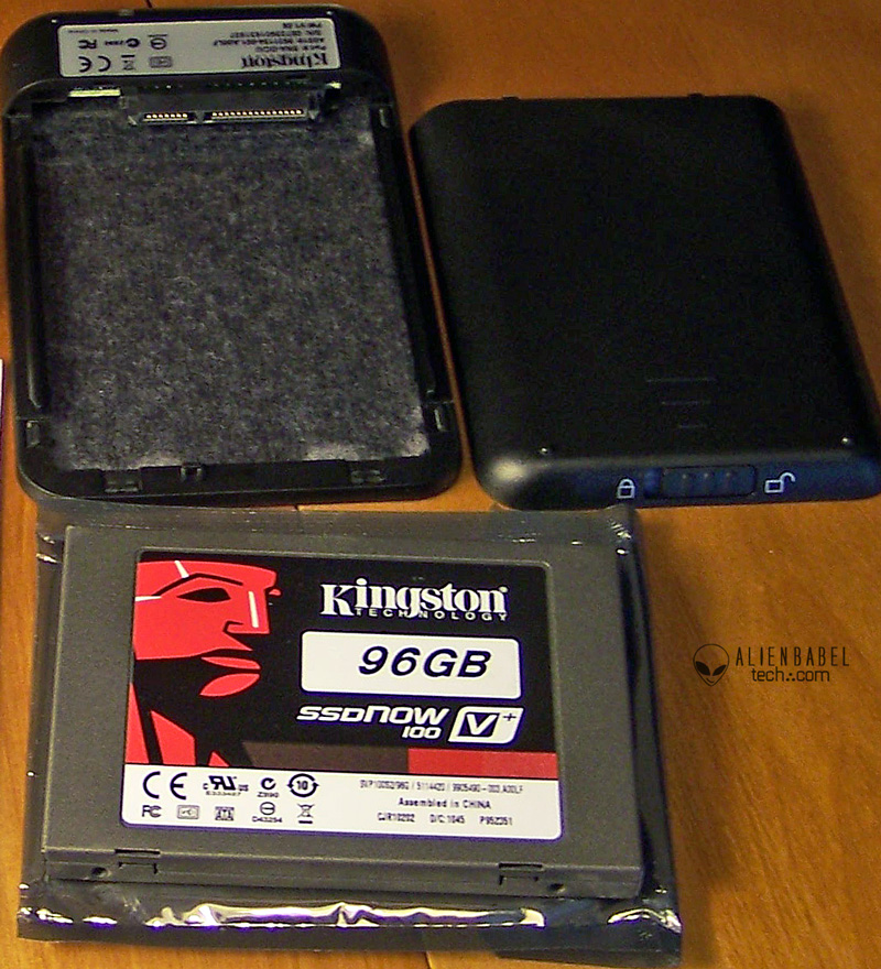 96 GB case2 Kingston 96GB SSDNow V+100 performance evaluation