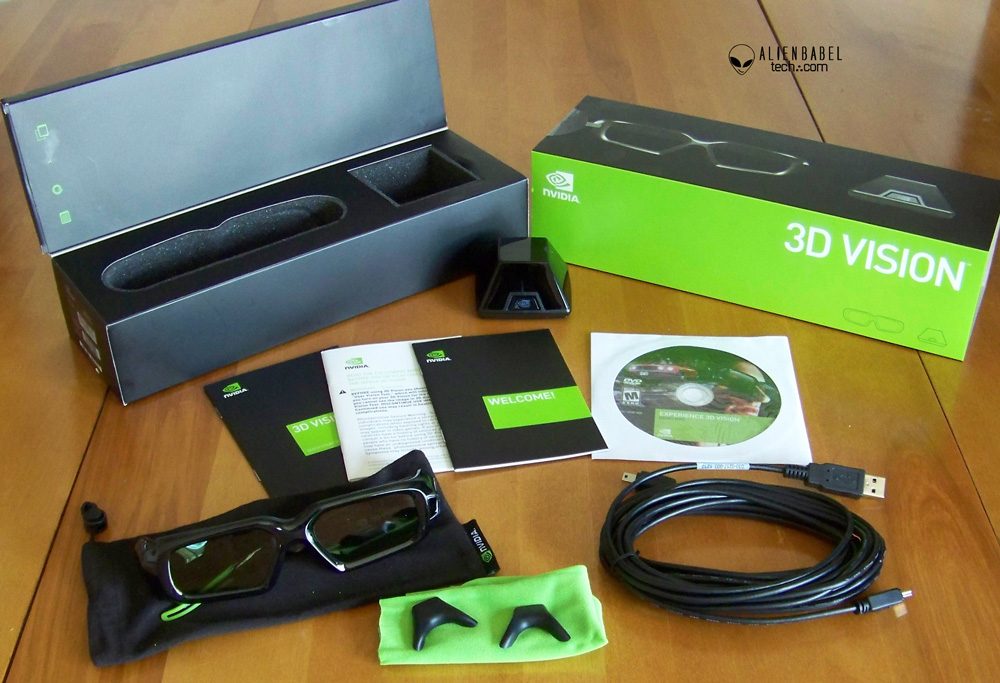 3D Vision kit 3D Vision Mega Evaluation   Gimmick or Gamings Future?