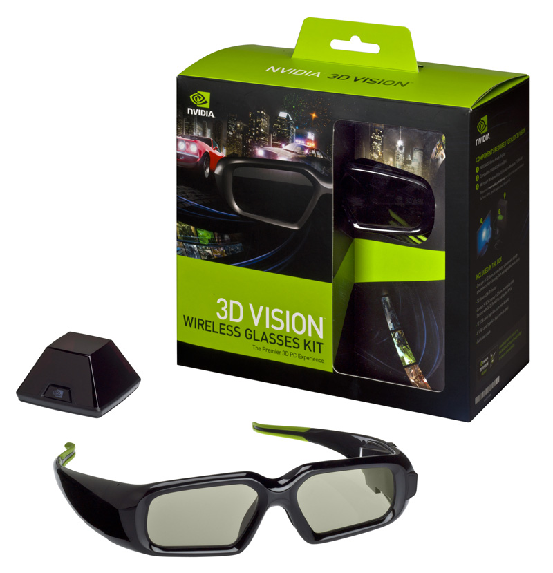 NV 3DVisionKit 1 3D Vision Mega Evaluation   Gimmick or Gamings Future?