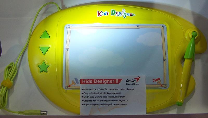 Genius kidstablet Behind the Scenes at CES 2012