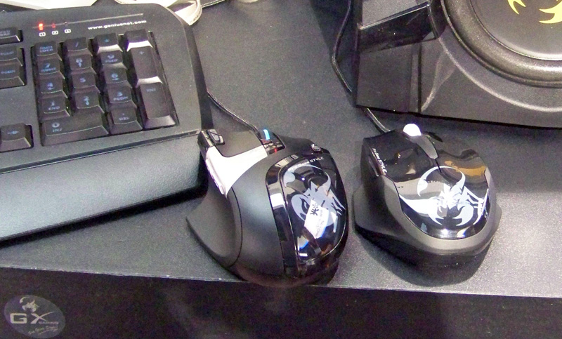Genius rts FPS mouse Behind the Scenes at CES 2012