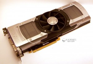 GTX690 front 2 300x207 The GTX 690 Arrives   Exotic Industrial Design takes the Performance Crown!