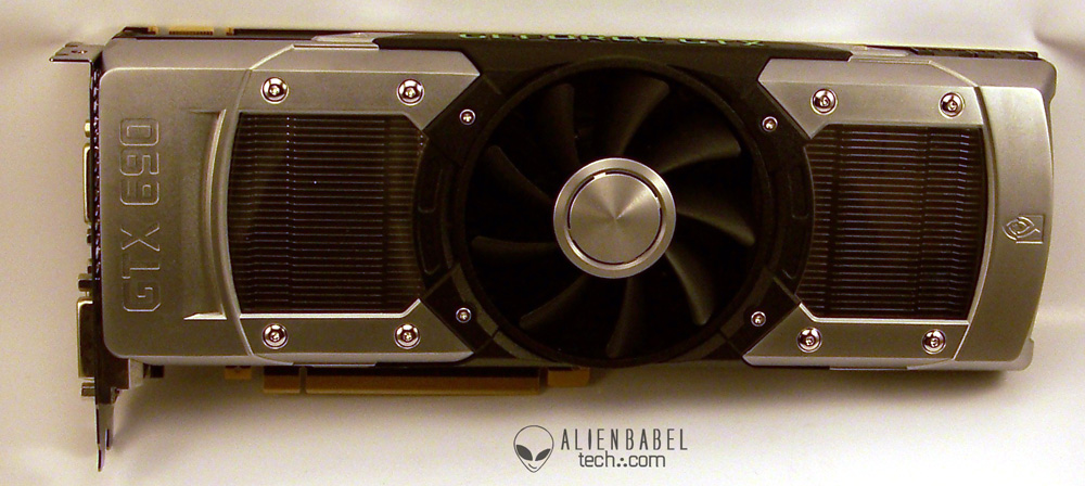 GTX690 front The GTX 690 Arrives   Exotic Industrial Design takes the Performance Crown!
