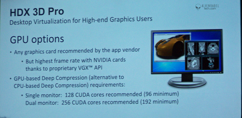 Citrix GPU options1 Nvidias GTC 2012