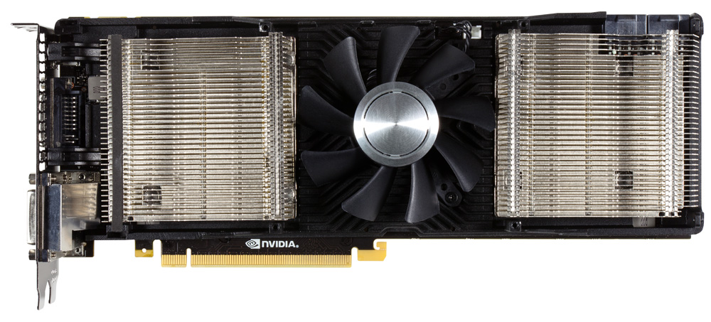 GeForce GTX 690 F no shroud The GTX 690 Arrives   Exotic Industrial Design takes the Performance Crown!