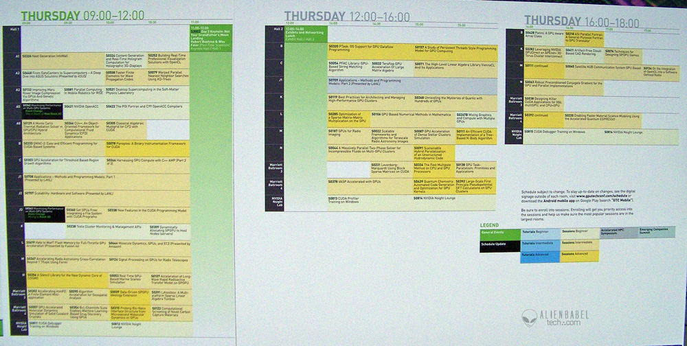 Schedule Th Nvidias GTC 2012
