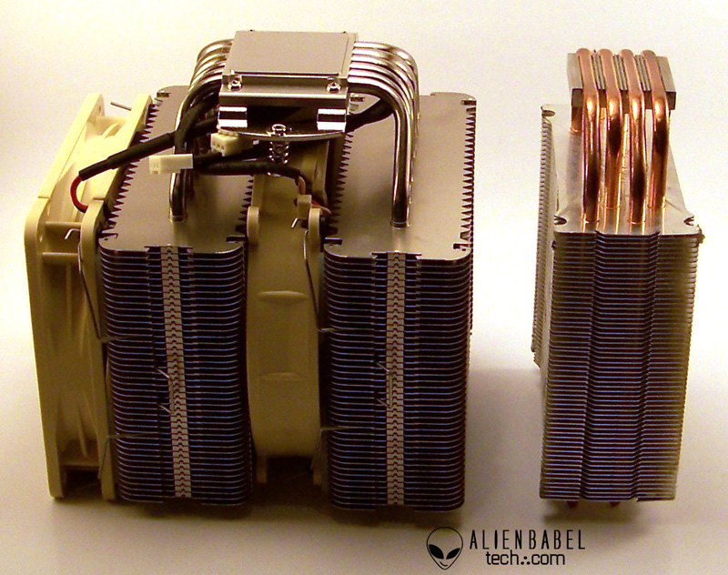 DH14 CM 1 Noctua NH DH14 & Ivy Bridge Core i7 3770K   in Pursuit of 5.0GHz