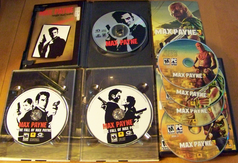 MP1 2 3 DISCs Max Payne 3 PC evaluation & FXAA vs. MSAA shootout