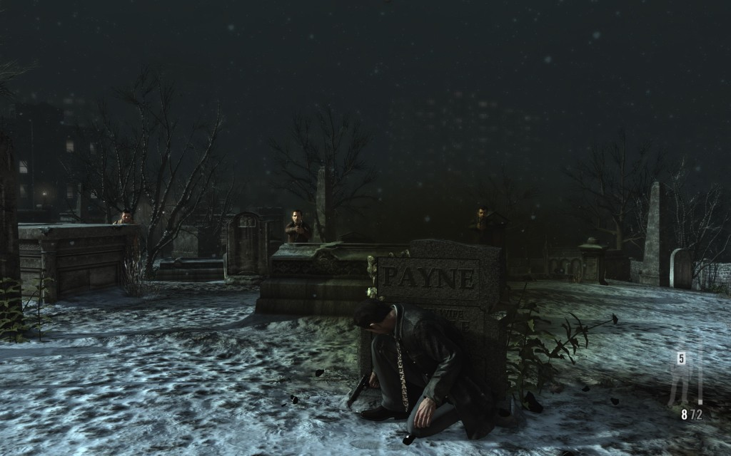NY cemetary 1024x640 Max Payne 3 PC evaluation & FXAA vs. MSAA shootout