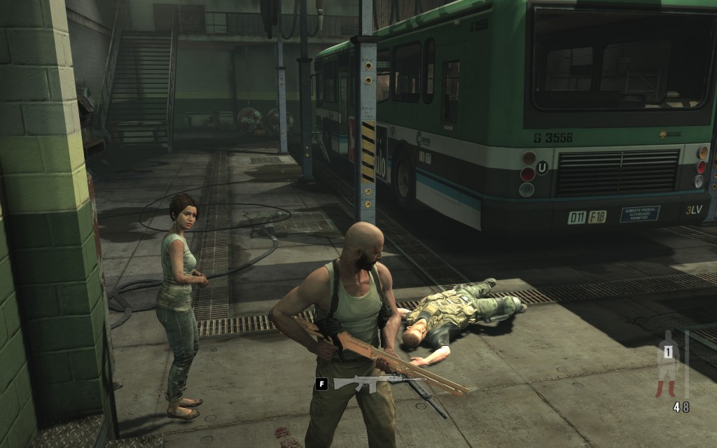 PostfavelaPROECT girl 12 1024x640 Max Payne 3 PC evaluation & FXAA vs. MSAA shootout