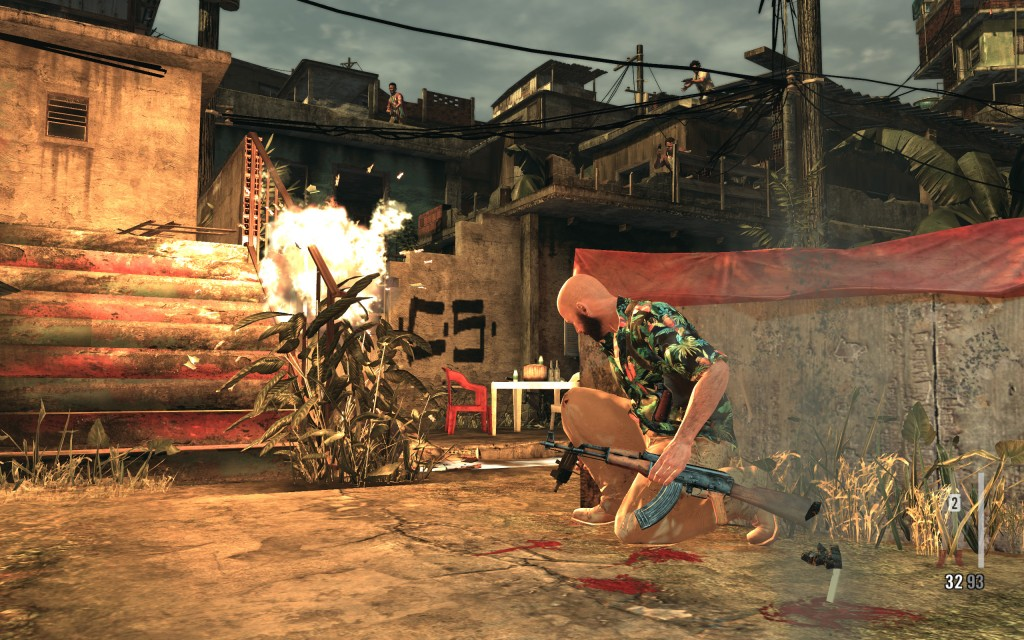 favela 5 1024x640 Max Payne 3 PC evaluation & FXAA vs. MSAA shootout