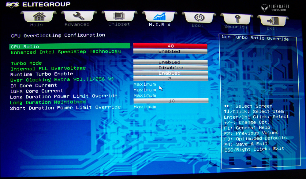 Bios cpuOC Platform upgrade: Core i7 920 vs i7 3770 at 4.2GHz featuring ECS Golden Series Motherboard and Kingston