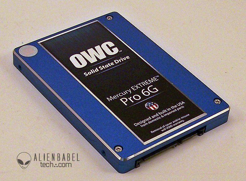 SSD 2 OWC Premium SandForce Based Mercury Extreme Pro 6G 240GB SSD is Blazing Fast!