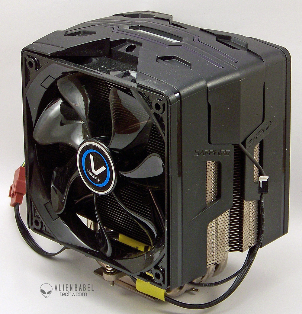 Vapor X 1 Sapphire rethinks the CPU cooler   the Vapor X