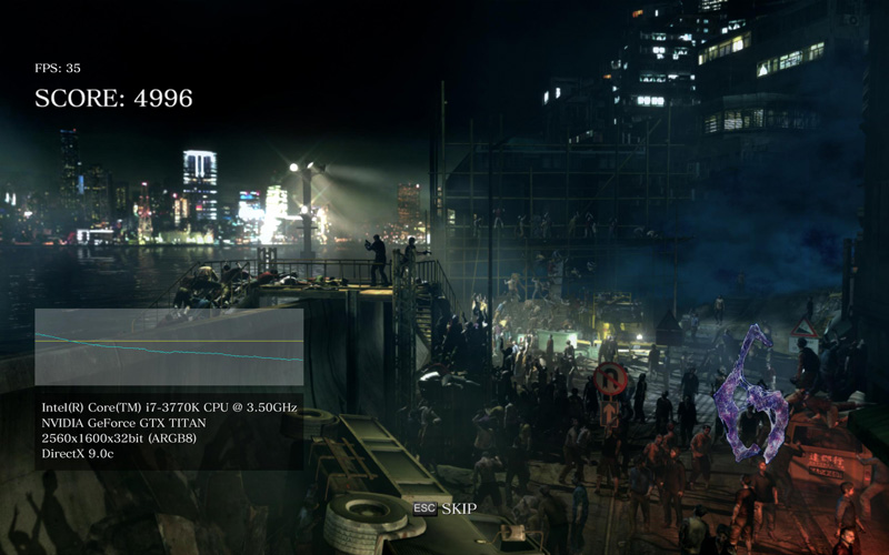 RE6 titan 1 Resident Evil 6 Benchmark   Frame Time measurement   GTX 680 vs. Titan vs. HD 7970 GHz ed.