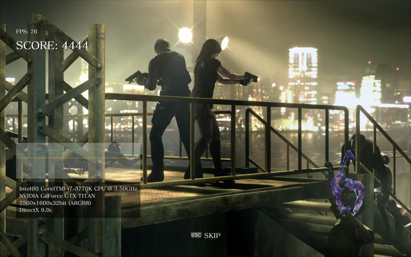 Resident Evil 6 Benchmark – Frame Time measurement – GTX 680 vs. Titan vs. HD 7970 GHz ed.